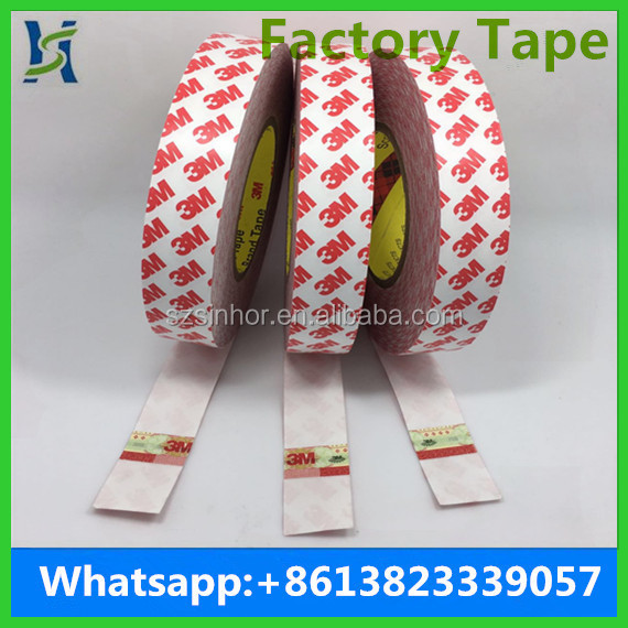 3M Double Sided Tissue Tape White Color 0.12mm Thickness