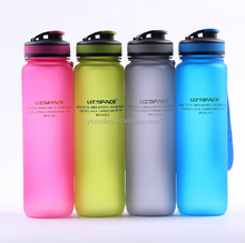 2015 Customized logo plastic water bottle/BPA free water bottle/colorful bottle 800ML