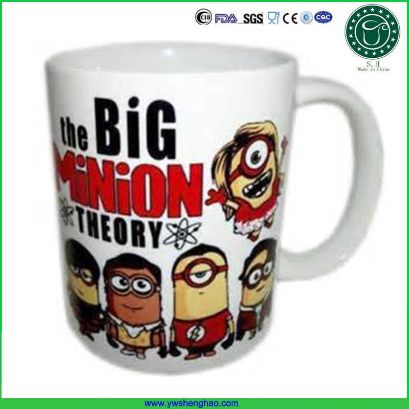 11 oz white coated ceramic sublimation mug with your favrate image