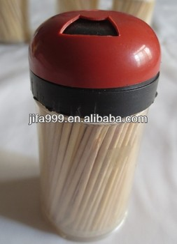 Small stock functional toothpick in bottle