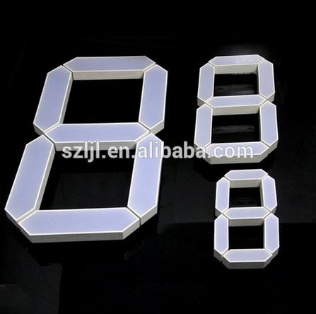 "2.3'', 4.0"", 6.0'', 8.0"", 10"", 20'' electronic single display led oil price display for gas station"