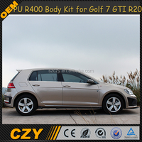R400 BodyKits Full PU Body kit for VW GOLF VII 7 MK7 R20 GTI