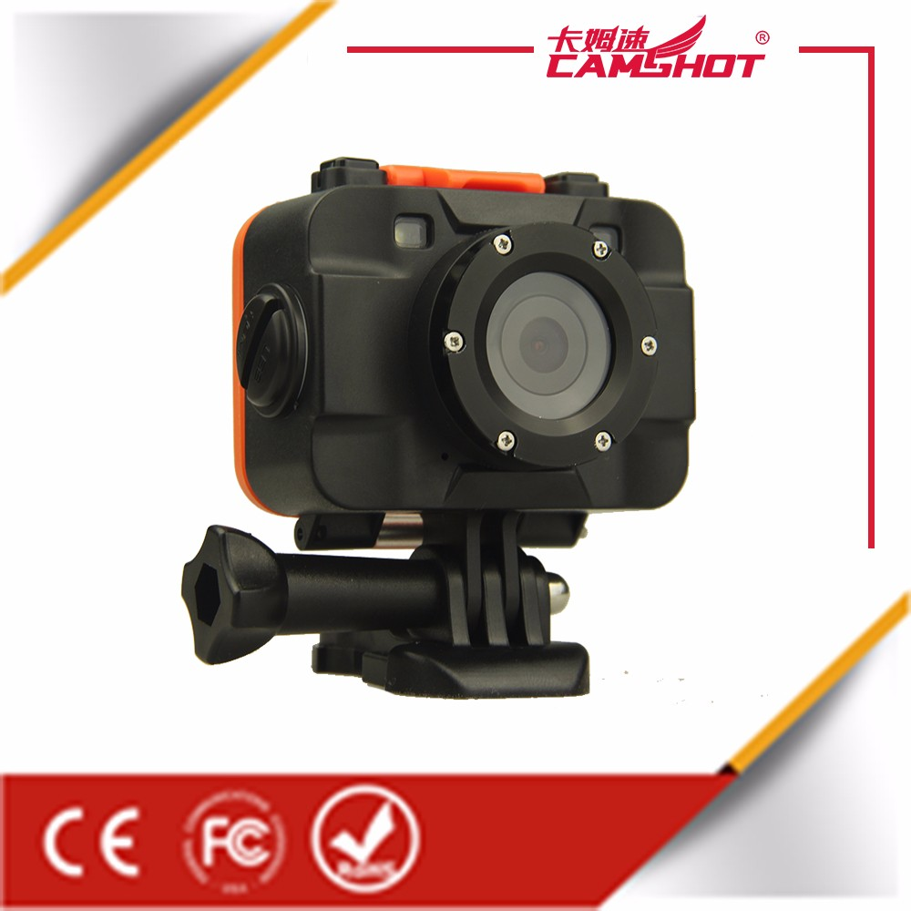 remote control sport camera underwater HD1080P LED lights night recording ,wifi instant camera price C87