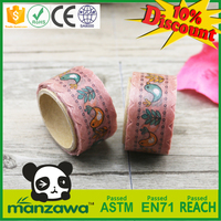 scrapbooking supplies florist wrapping paper washi tape made in China