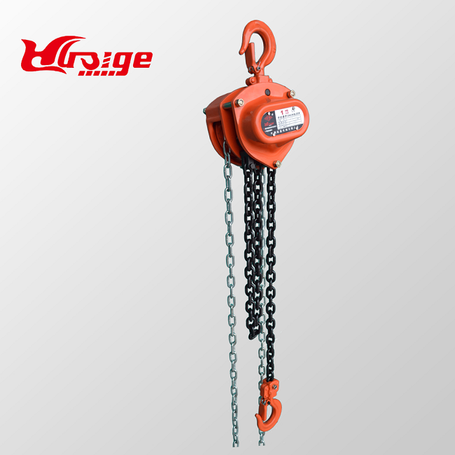 Chain Hoist Winch Engine Lift System Rigging Puller Block Fall