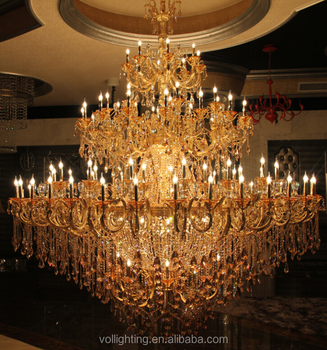 Large hotel lobby chandelier lighting pendant light hanging lamp