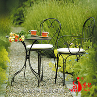 Youth sunshine garden set of iron chair and table