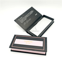 Factory Supply Best Quality Glitter Paper False Eyelash Packaging Box with Private Label
