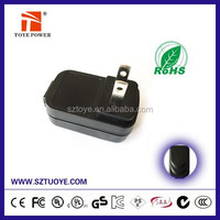 Promotional SAA CE UL approval 5W 6W AC/DC adapter powerline adapter