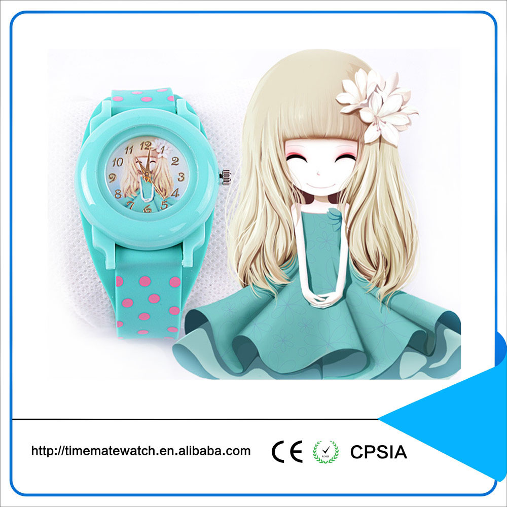 High quality and cheap wholesale kids silicone slap watches