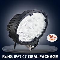 "36W 7"" LED WORK LIGHT C REE LED OFF ROAD LIGHT"