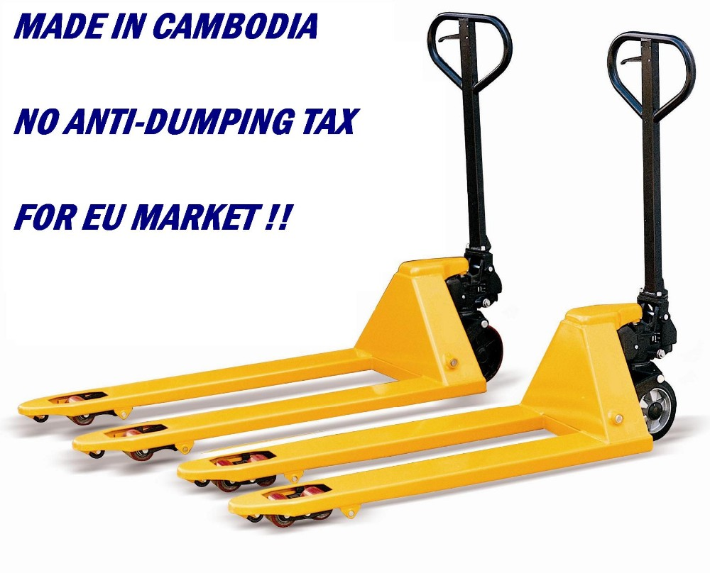Hydraulic Hand Pallet Truck for Europe