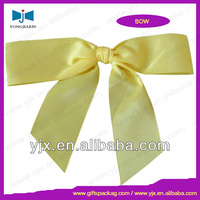 Flat Christmas Pre-tied Ribbon Bow/Stretch Loop
