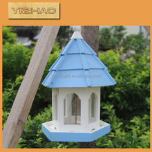 Eco-friendly FSC Hanging Wooden Bird Cage,wire mesh & wooden bird cage