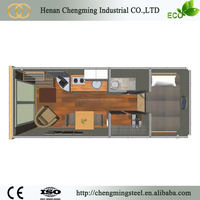 China easy portable foldable container hotel hot sale