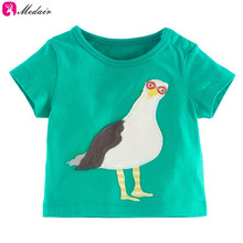 Cheap Factory Undersell Cartoon Pic For Baby Clothes Plain Cotton Tshirt
