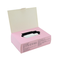 Different design biodegradable cardboard box crayon gift box