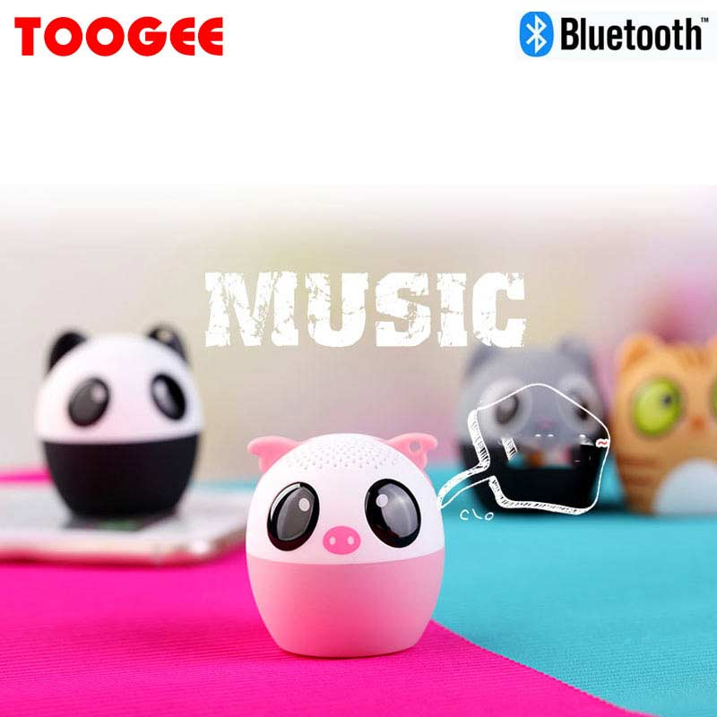 MIC new Bluetooth fountain spekers mini fart animal sound box