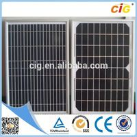 High Efficiency Portable Compact color thin film solar panel
