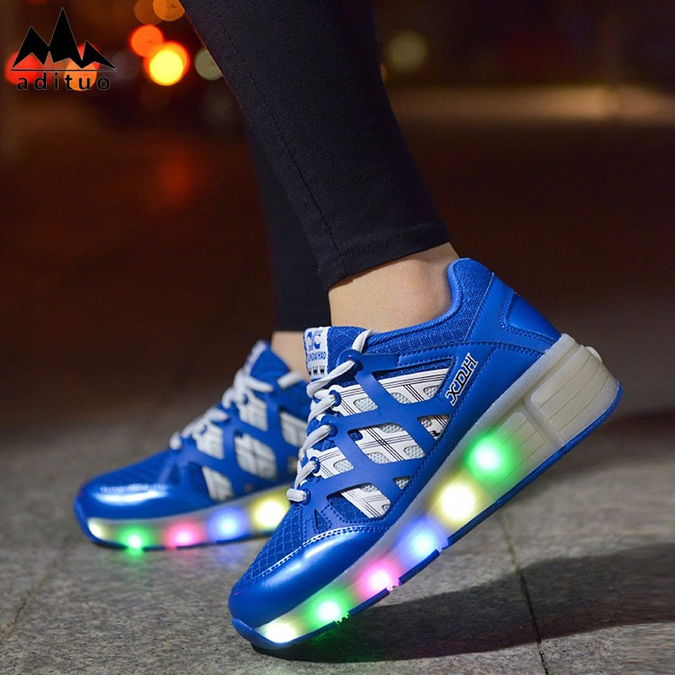 Fashionable Professional Led Roller Skate Kid Shoe