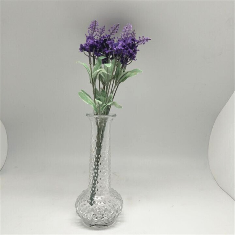 clear glass flower vase wholesale