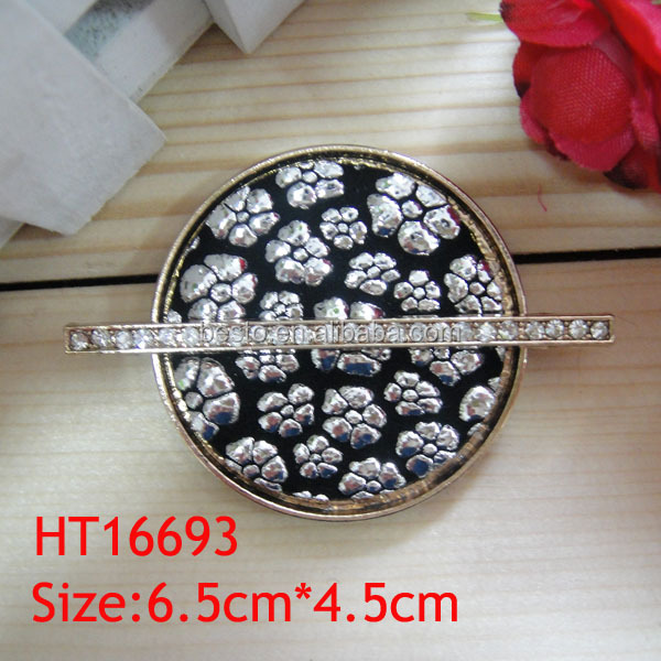 HT 16693 custom western types vintage round enamel hardware wholesale belt buckles