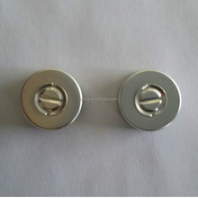 20mm aluminium caps with butyl rubber stopper