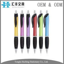 HF5212A advertising wholesale custom pens promotional plastic ball with normal refill