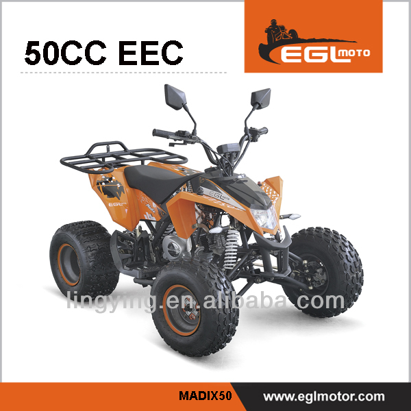 EEC ATV 50cc gas four wheelers for kids