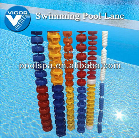 China manufacturer pool accessory wholesale swimming pool lane line pool lane rope