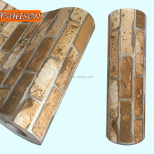 PVC Film Manufacturer Latest Brick Design PVC Wallpaper Stickers