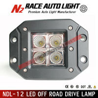 Car LED tuning light/20W LED CREE flush mount work lights/offroad led light