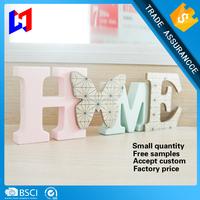 DIY wooden decorative alphabet letters