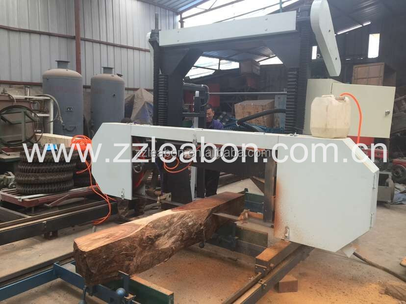 LEABON Brand Horizontal Pin Wood Portable Sawmill Used