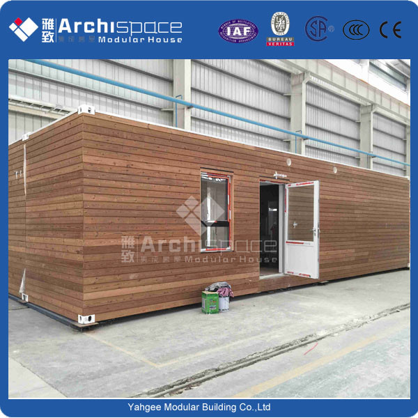 prefab wooden house with steel house prefabricated