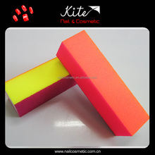 newest design sponge nail buffer color nail file