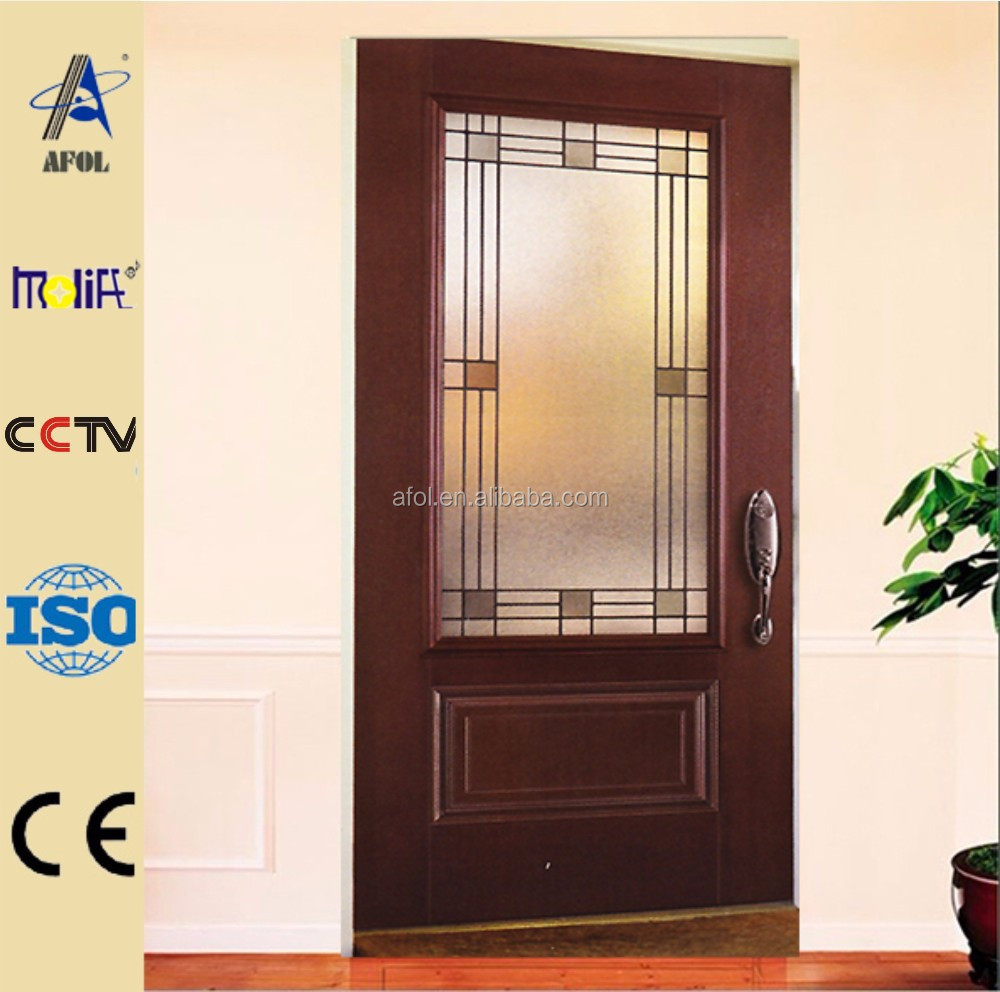 Afol luxury entry door glass inserts buy entry door for Door glass inserts