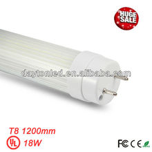 2013 new products japanese tube 8 18w 1200mm AC100-277V, UL CE RoHS FCC listed, 5years warranty