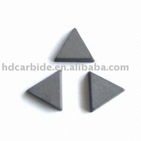 Cemented carbide brazed tips P30 brazed inserts