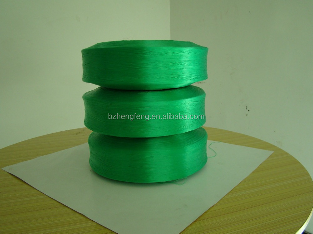 300D-3000D high Strength polypropylene spun yarn