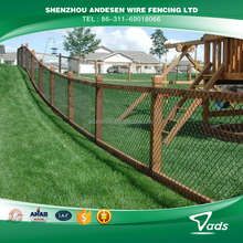 8 gauge hot dipped galvanized chain link fence