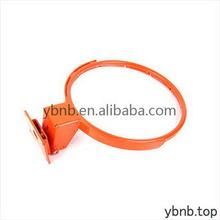 Newest export plated plastic basketball ring