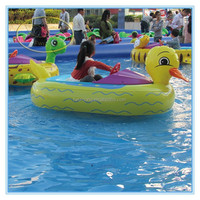 Fwulong high quality CE approved large inflatable water floats,electric boat manufacturers