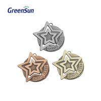 China Factory Price Discount Silver Medal