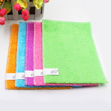 OEM bamboo fiber rectangle daily household items cleaning products for washing dishes