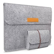 High Quality Slim Wool Felt Laptop Sleeve <strong>bag</strong> with mouse pouch