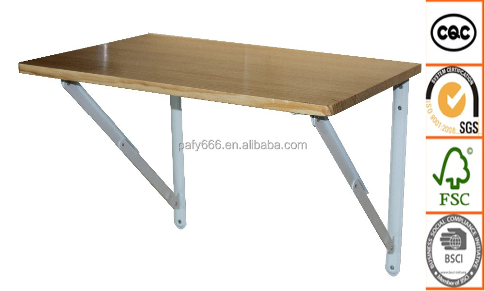 New Products Modern MDF Fold Down Table Wall Mounted Folding Table