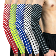 Sports Compression UV Protection Arm Sleeve Baseball Football Basketball Cycling Sportswear