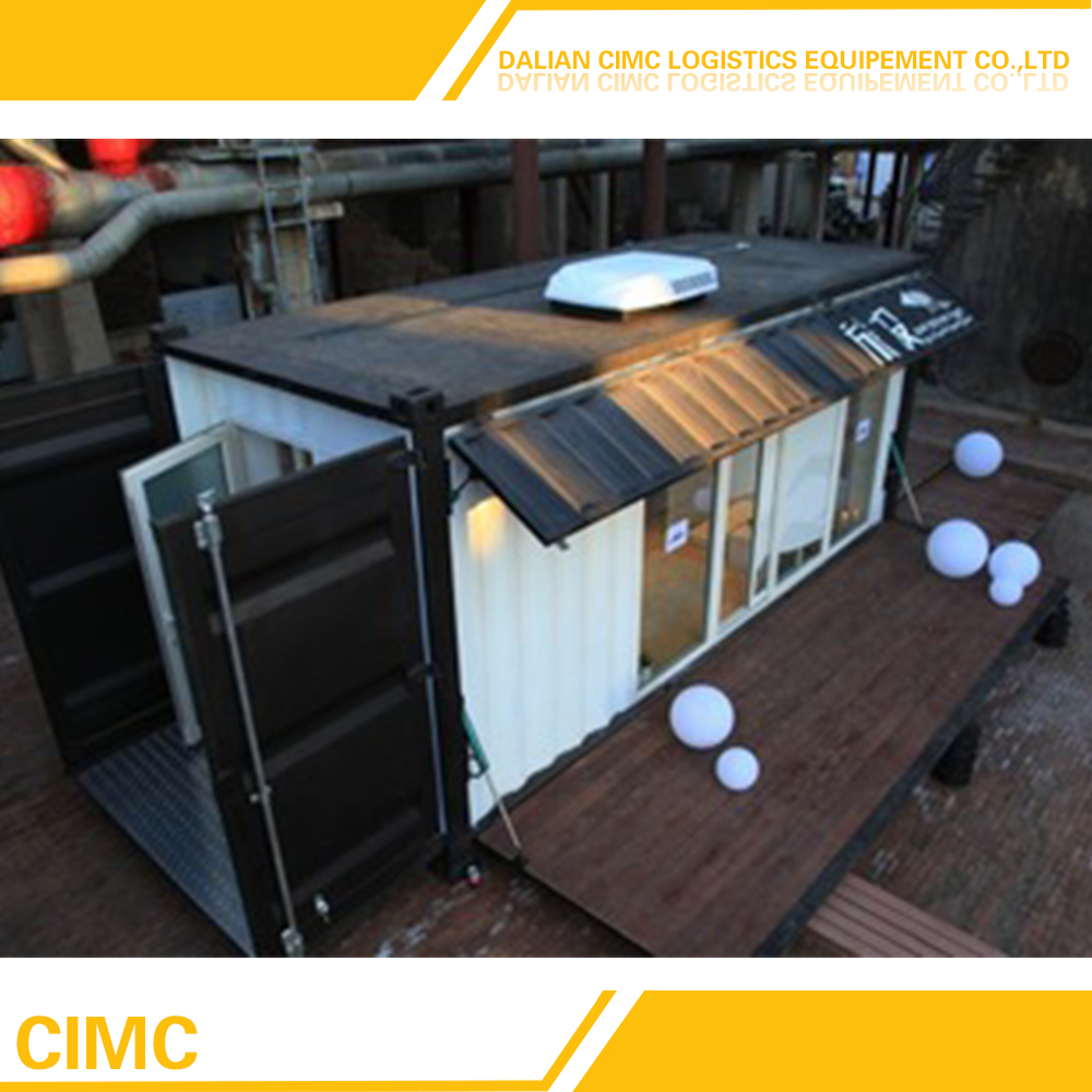 Prefabricated Insulated Shipping Containers