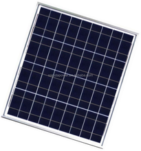 First Grade 50W poly pv power solar cell High efficiency solar panel 50W polycrystalline solar photovoltaic module